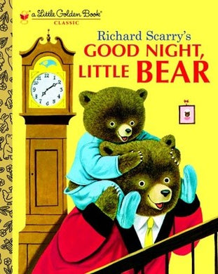 Good Night, Little Bear by Patricia M. Scarry by Golden books