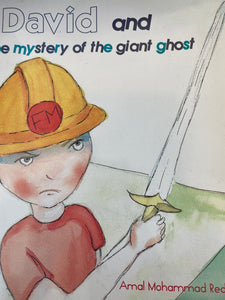 David and the Mystery of the Giant Ghost - Amal Reda