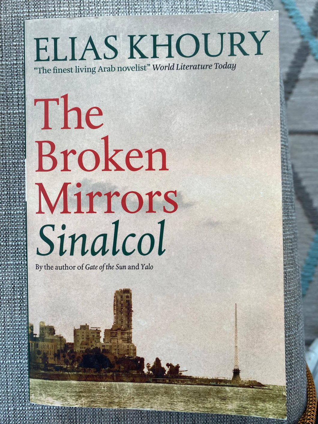The Broken Mirrors Sinalcol - Elias Khoury