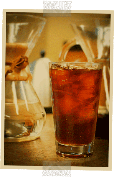 HOME BREWING, iced coffee, INSTRUCTIONS, RECIPE, summer - Sweaty Glass of Iced Coffee