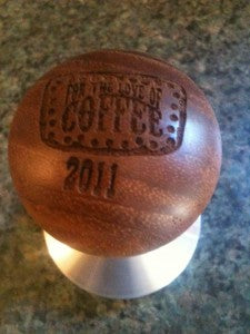Reg Barber For the Love of Coffee Tamper
