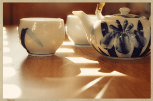 how to, tea, not coffee, home brewing, green tea set