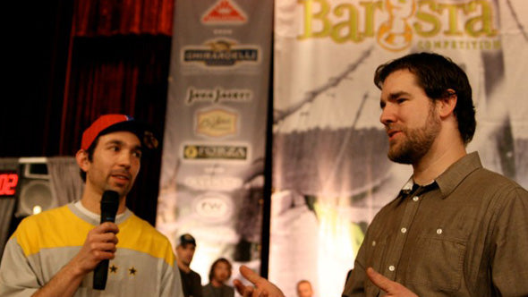 Matt with Chris Bacca at during the 2009 NWRBC