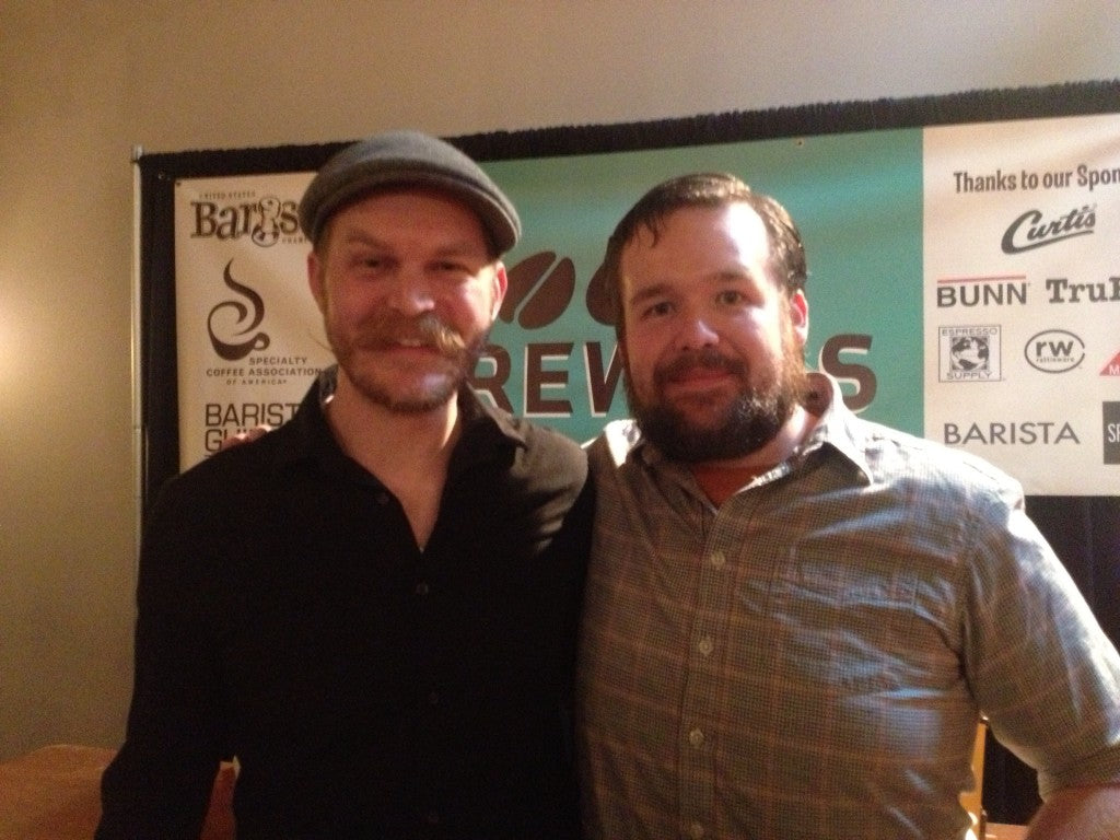 Andrew Tucker-MacLeod & Ben Jones at this year's NW Brewers Cup
