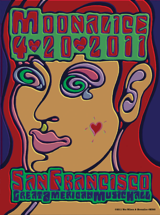 2011-04-20 Great American Music Hall - San Francisco CA - Wes Wilson