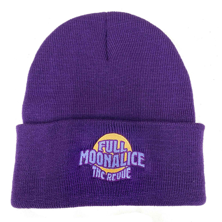 Full Moonalice Purple Knit Beanie