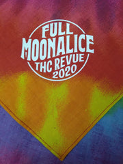 Full Moonalice Rainbow Tie Dye Bandana