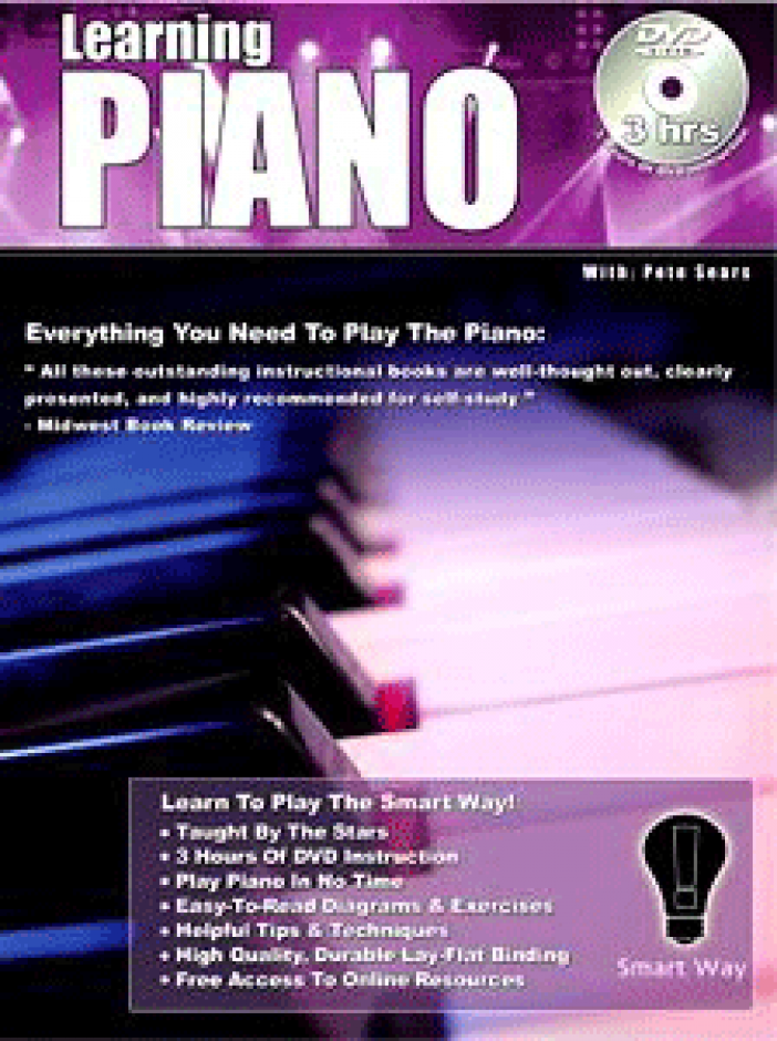 Pete Sears - Learning Piano The SmartWay! Dual DVD & Book