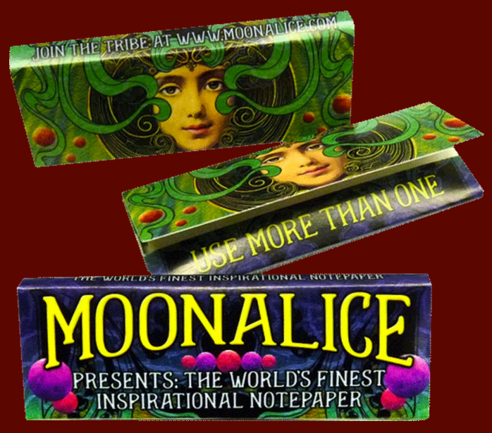 DDS Anonymous Bag + Moonalice Rolling Papers Bundle