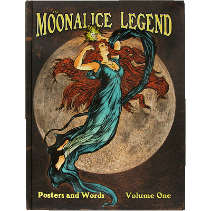 Moonalice Legend Book Vol 1 Hardback