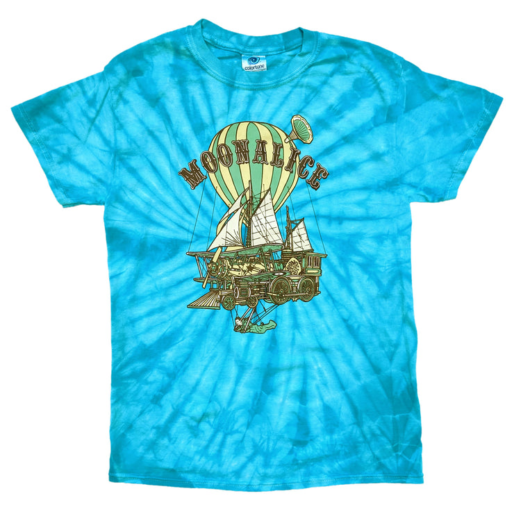 Flying Machine Tie-Dye Tee