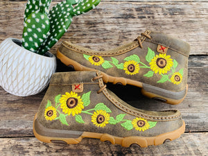 Twisted X Sunflower Mocs