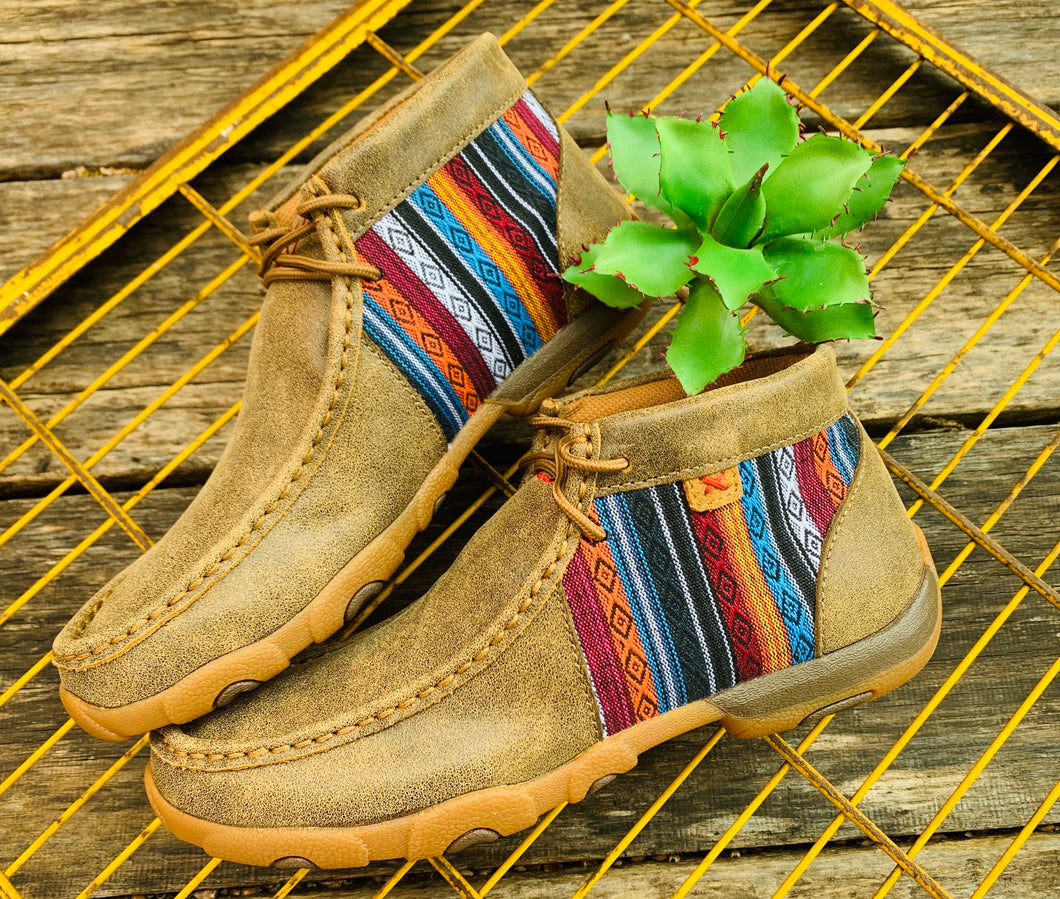Twisted X Serape Mocs*Ladies