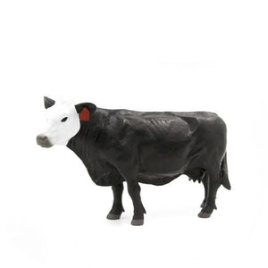Black/White Face Cow