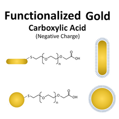 Buy Carboxyl Functionalized Gold Nanorods and Nanospheres