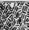 Gold NanoRods LSPR = 780nm - NanoHybrids Top Gold Nanoparticles