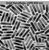Gold NanoRods LSPR = 850nm - NanoHybrids Top Gold Nanoparticles