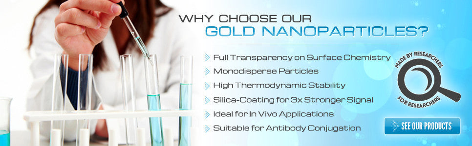 Premium Gold Nanoparticles for better imaging results