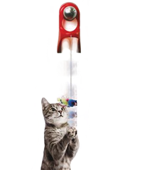 Jouet interactif springstring - JW Cataction