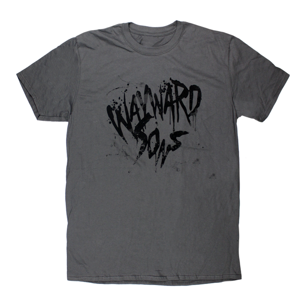 Black On Grey Logo T-Shirt