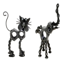 Load image into Gallery viewer, Shared Earth Upcycled Bike Chain Animal Ornaments