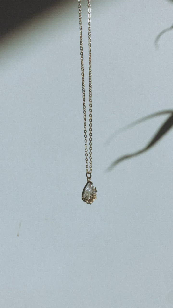 Water Drop Pendant Chain
