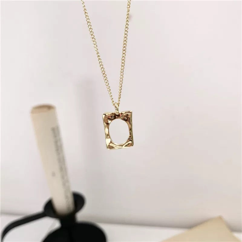 Picture Perfect - Photo Frame Necklace