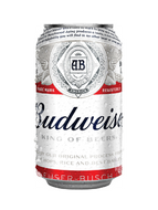 Budweiser, 355ml can
