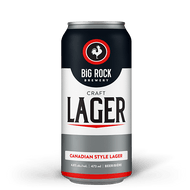 Big Rock Lager, 473 ml