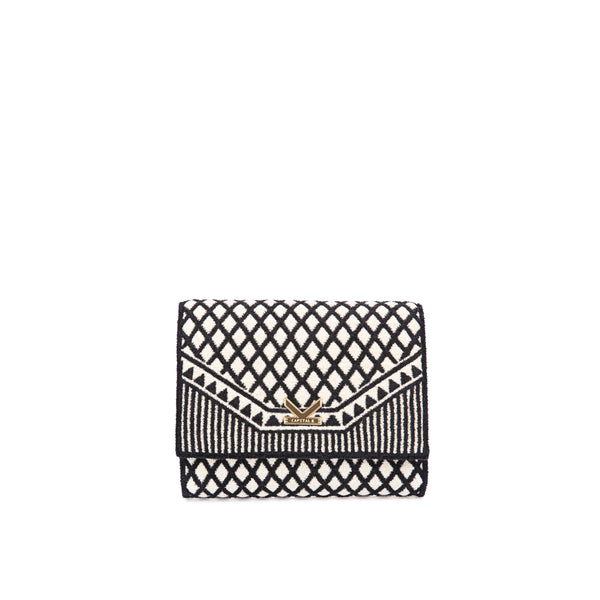 Crackles Series-Embellish Diamond Crossbody Bag Gold