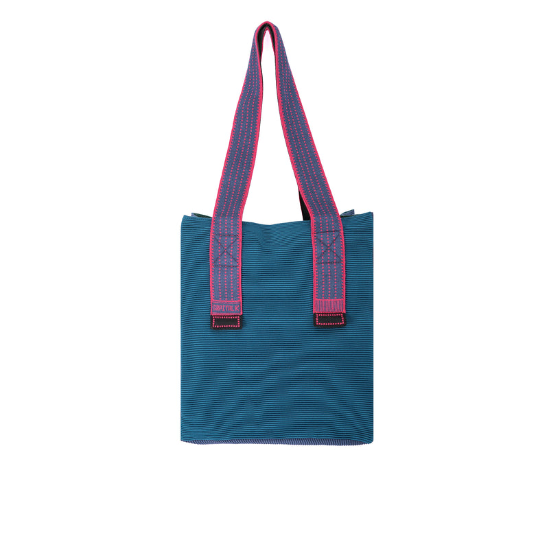 The TO。TE Series-Shopper Combo tote Army Blue