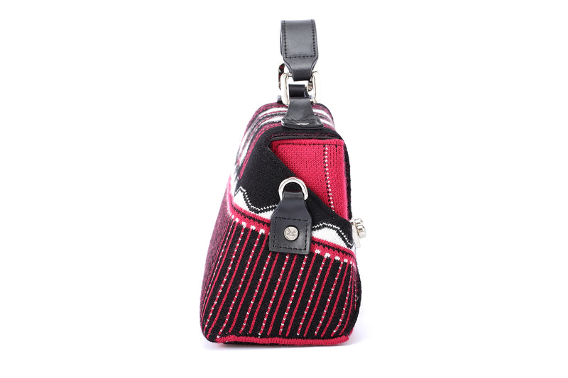 Three Angles Series Mini Bag Wine Red