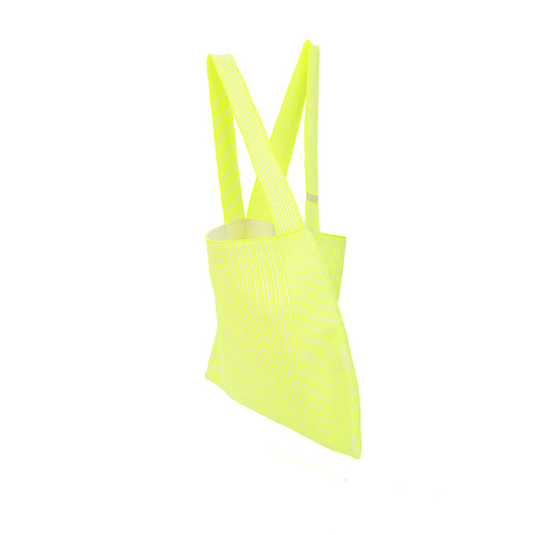 The TO。TE Series- Shopper Paper Tote Neon Yellow