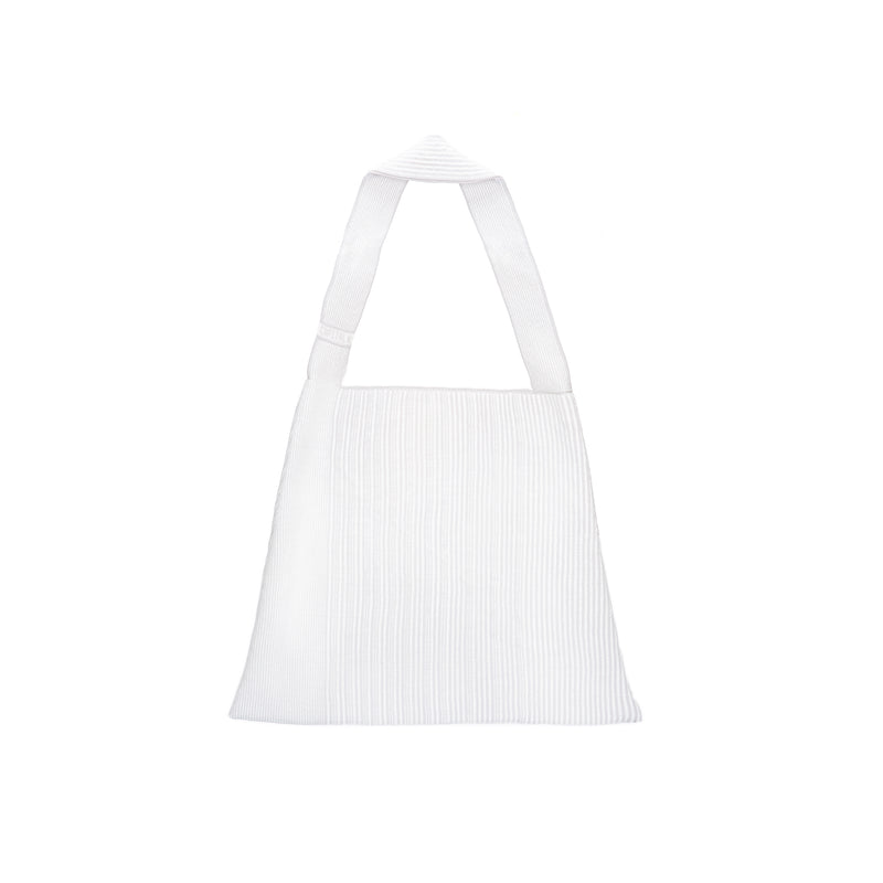 The TO。TE Series- Shopper Paper Tote Light Grey