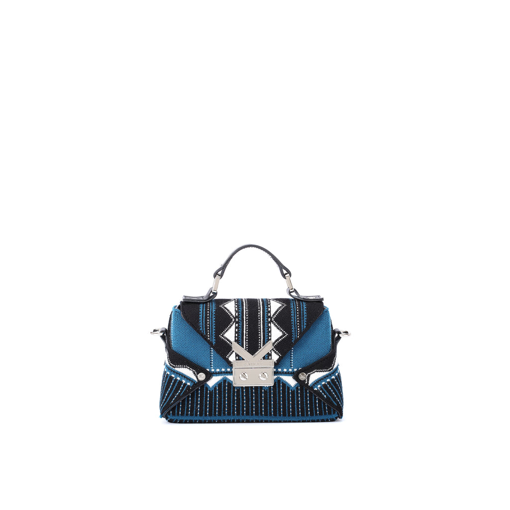 Three Angles Series Mini Bag Electric Blue