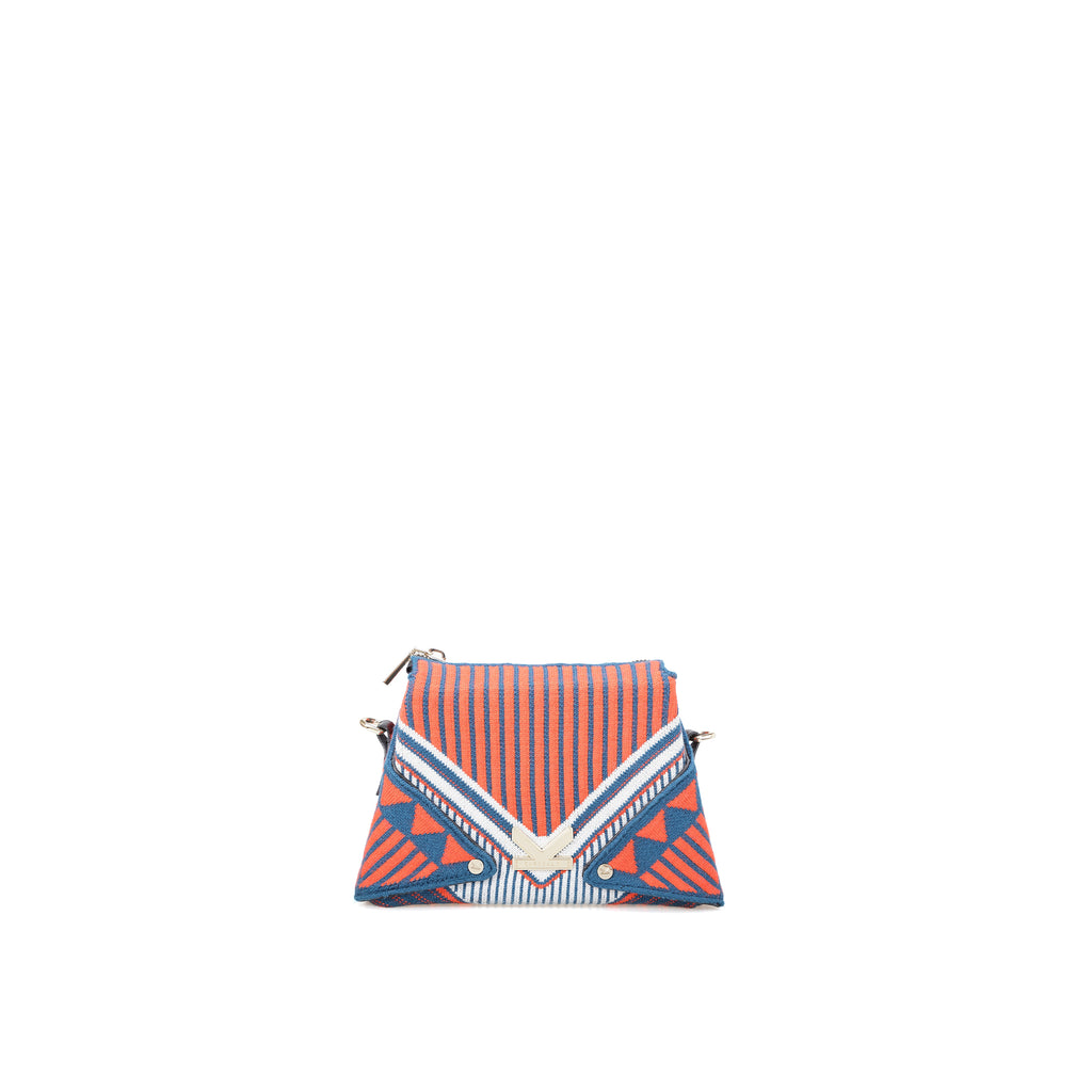 Three Angles Series Nano bag Orange