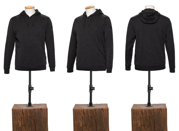 320GSM MERINO HOODED PULLOVER