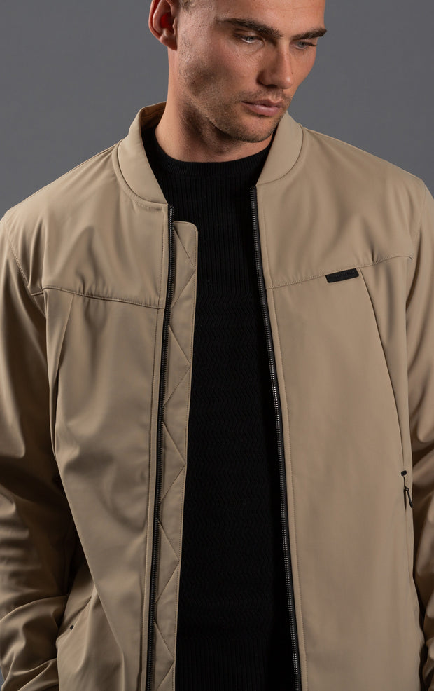 SOFTSHELL BOMBER  JACKET