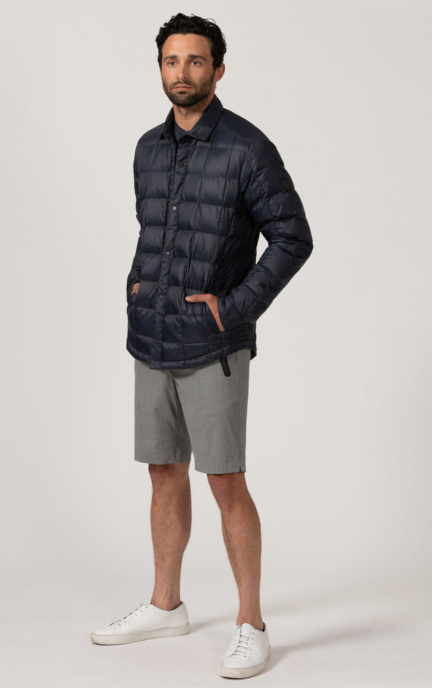 ESSENTIAL LIGHTWEIGHT DOWN SHACKET