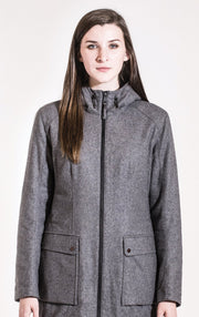 LAMINATED WOOL INSULATED PARKA