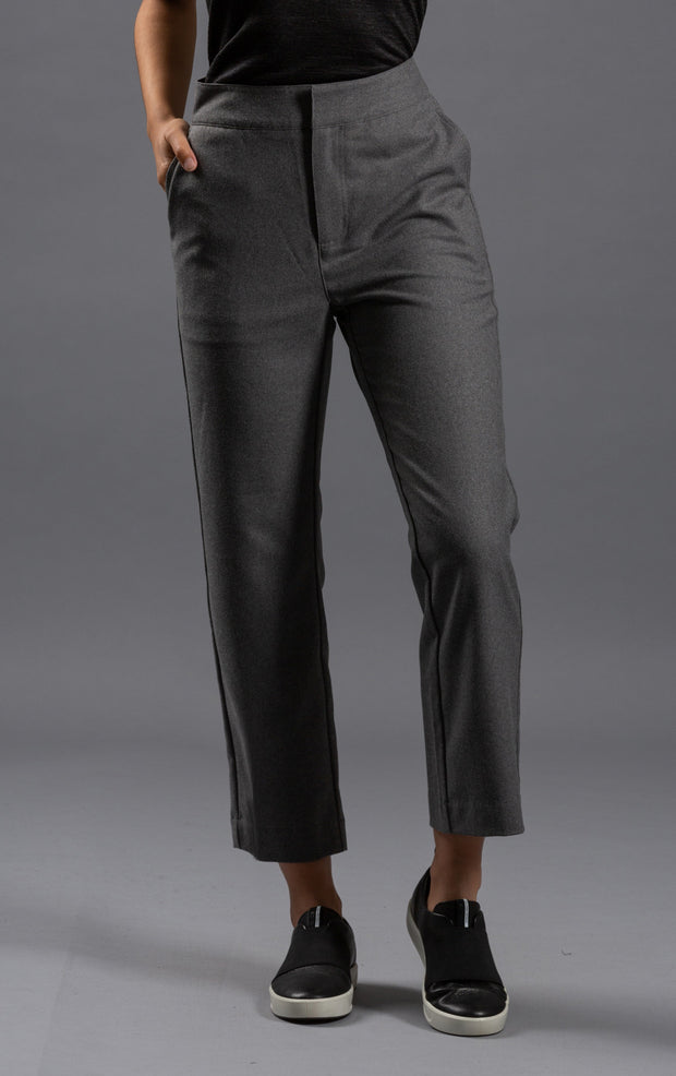 CROPPED FLANNEL TROUSER