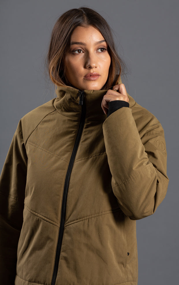 PRIMALOFT  INSULATED MICROSUEDE JACKET