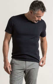 14 GAUGE COTTON SILK TEE