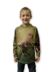 RAPTOR Dino 3D Hoodie Sport Shirt by MOUTHMAN®