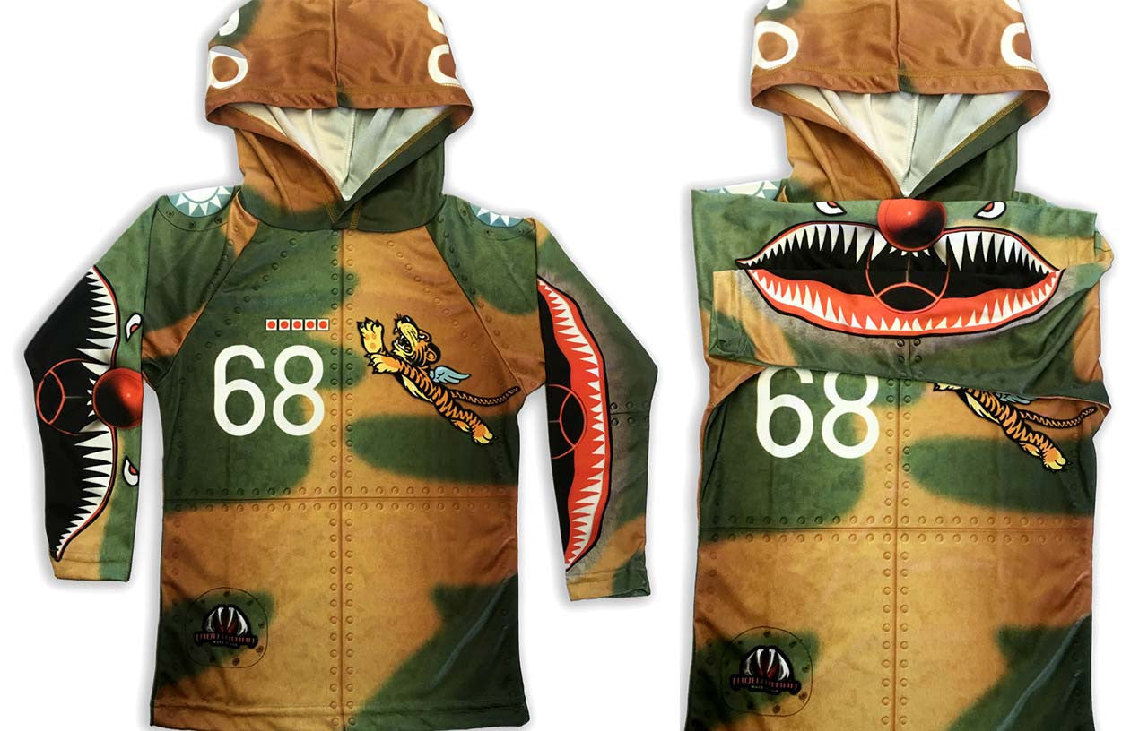 new flying tiger hoodie shirt by mouthman for. Black Bedroom Furniture Sets. Home Design Ideas