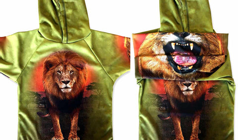 NEW!!! MOUTHMAN® LION JUNGLE KING Sport Shirt | Youth unisex