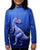 MOUTHMAN® Raptor-in-Blue Hoodie Sport Shirt  Tots/Youth/Adults - unisex  $34.99 - $48.99+
