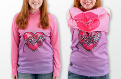 XOXO KISSY LIPS Hoodie Chomp Shirt by MOUTHMAN®