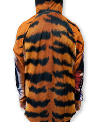 Back view of Mouthman tiger Hoodie