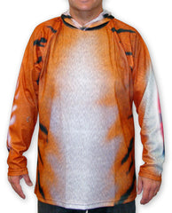 adult Mouthman tiger hoodie